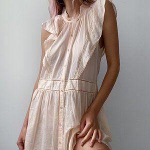 NWT Aritzia Wilfred Silk Petale Dress
